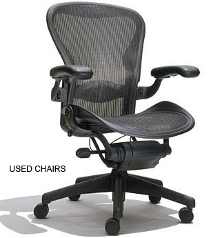 USED CHAIRS (TASK CHAIRS, LOUNGE CHAIRS, CONFERENCE CHAIRS)