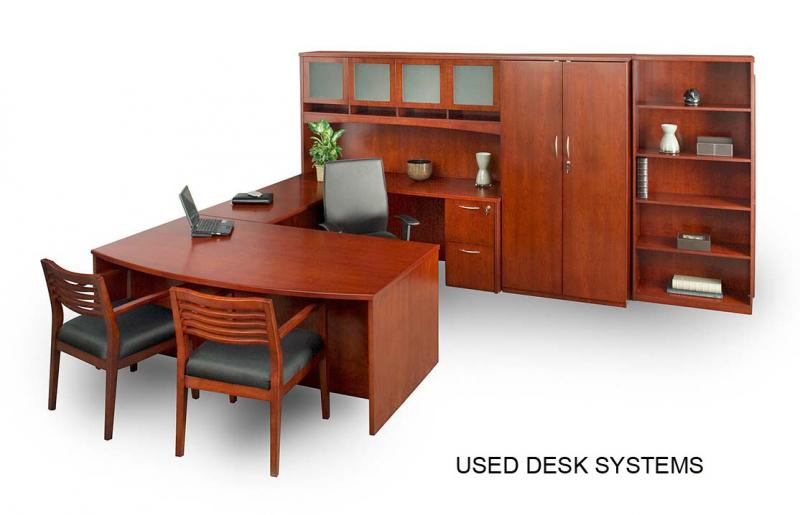 USED DESKS (L-SHAPED DESKS, U-SHAPED DESKS)
