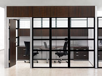 Floor-To-Ceiling Private Office Systems